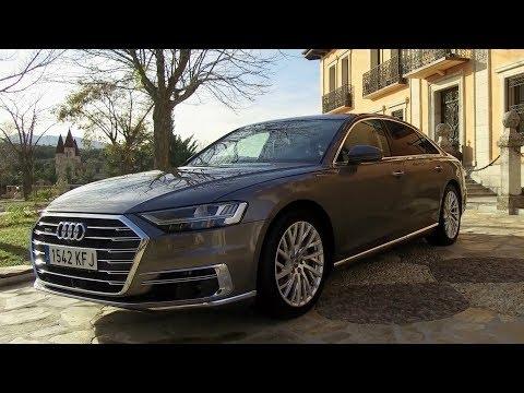 Al volante del Audi A8, un prodigio tecnológico que se adelanta al futuro - Centímetros Cúbicos