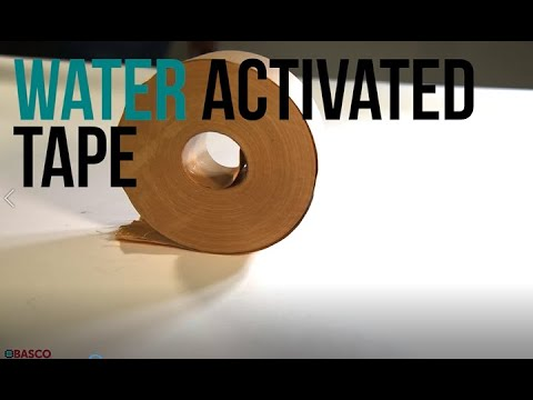 Water Activated Tape 101 (BASCO's Exclusive ShipRight ™ Tape)