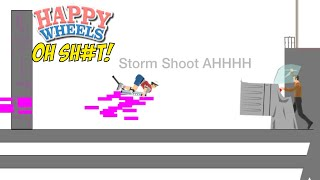 THIS ON SOME FUTURISTIC SH#T!! [HAPPY WHEELS] [MADNESS!]