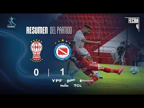 Уракан  0-1  Архентинос Хуниорс видео