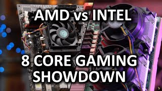 Eight Core Gaming PC Showdown - AMD vs Intel!