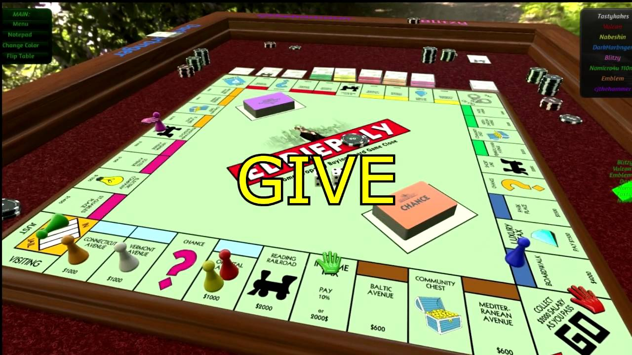 Online Tabletop Game