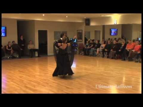 Waltz Show Dance at Ultimate Ballroom in Memphis (Ballroom March Madness 2013)