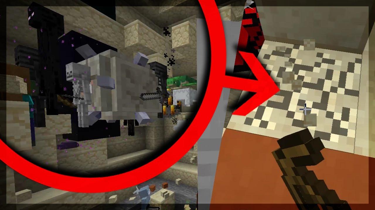 Minecraft MAS quando eu quebro um BLOCO ele VIRA UM MOB