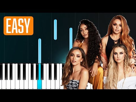 """Cheat Codes, Little Mix - """"Only You"""" 100% EASY PIANO TUTORIAL"""
