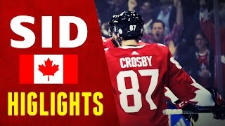 Sidney Crosby - World Cup of Hockey 2016 | Highlights