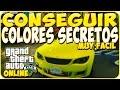 TRUCOS GTA 5 ONLINE - CONSEGUIR COLORES SECRETOS - GTA 5 PS4, PC Y XBOX ONE