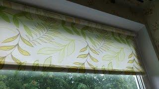 Рулонные шторы Мини, с магнитами.