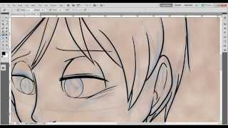 How to draw Ryan (Hell and Heaven) - Inking process