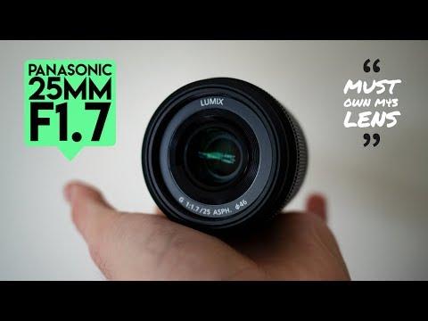 The $100 M43 lens everyone NEEDS Panasonic 25mm