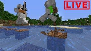 Minecraft Speedrunner VS Hunter LIVE