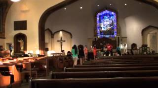 Wedding Rehearsal at Church