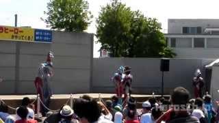 「ウルトラマンがやってきた」ショー(ティガ セブン ミラクルゼロ ギンガストリウム ビクトリー)ultraman show esven miraclezero victory tiga