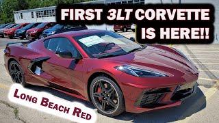 2020 Chevy Corvette C8 ~ 3LT Z51 LONG BEACH RED METALLIC   Morello Red Dipped ~ Walk Around & Review