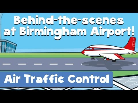 Air Traffic Control (Behind The Scenes At The Airport: Episode 3)!