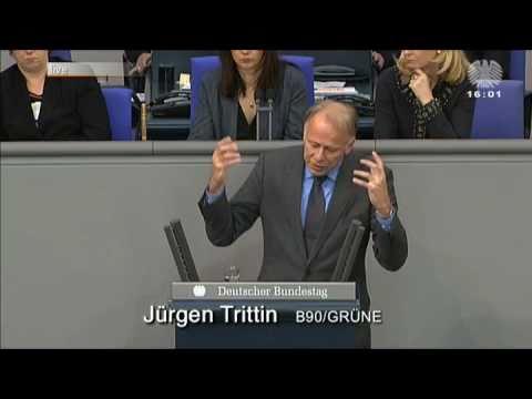 Jürgen Trittin zerpflückt zu Guttenberg mit Thomas Mann