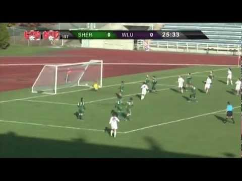 2012 CIS WSOC - Sherbrooke vs. Laurier - Consolation Semifinal