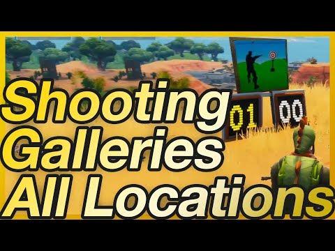 Fortnite - Season 6 Week 4 Shooting Gallery Challenge Location