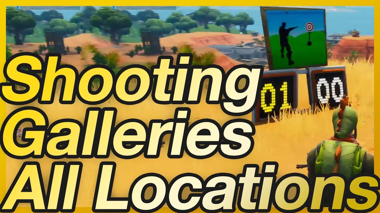 Arcery Range Fortnite Fortnite Shoot Targets At Shooting Ranges Location Guide Week 4 Gamewith