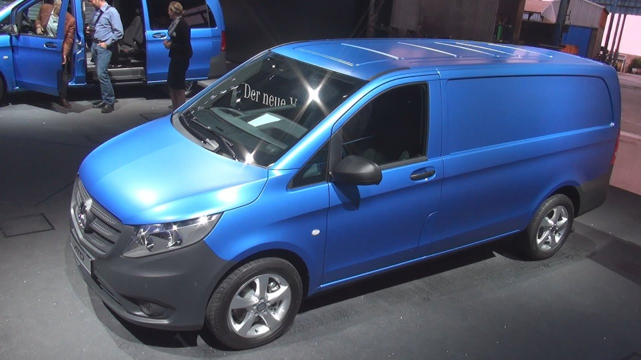 mercedes benz vito 119 bluetec 4x4 panel van exterior and interior in 3d youtube. Black Bedroom Furniture Sets. Home Design Ideas