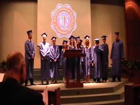 Jordan Thornton Awesome Valedictorian Speech Wichita Christian School