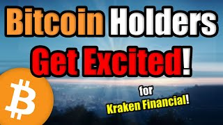 BREAKING: The USA Just Released the Cryptocurrency Bulls with the Kraken Financial Bitcoin Bank!