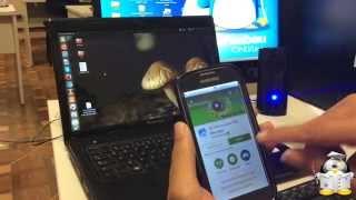 Transferindo arquivos do Android para o PC por Wi-Fi.