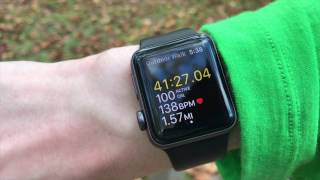 HIKING WITH THE APPLE WATCH 2 - BATTERY TEST