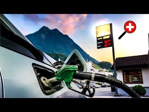 How to Pump Fuel in Switzerland | Driving in Switzerland