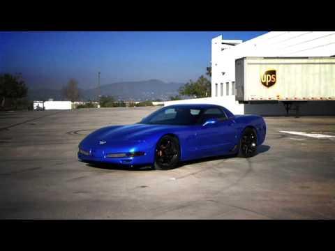 Monterey Blue C5 Corvette