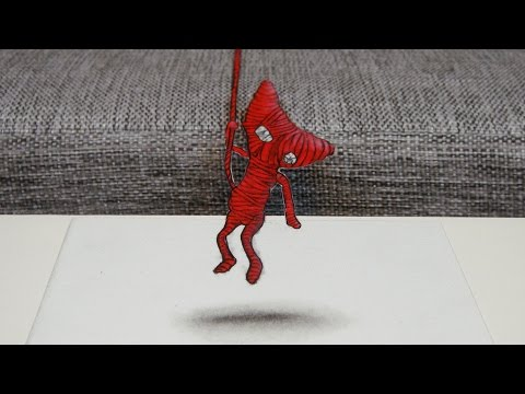 Speed Drawing: Unravel | 3D Artwork
