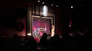 Performing at Gotham Comedy Club 12818