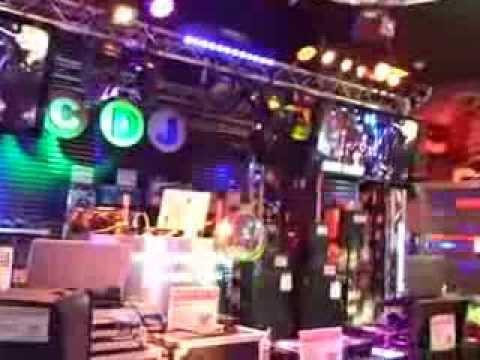 Guitar Center  Floor Show Disco Lighting DJ Equipment