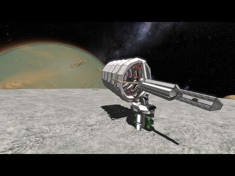 [Space Engineers] Planetary Railgun Concept  