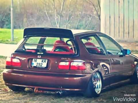 Honda hatchback 93 - YouTube