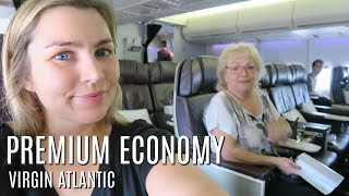 Video FLYING VIRGIN ATLANTIC PREMIUM ECONOMY NYC TRAVEL DAY BOEING 747 download MP3, 3GP, MP4, WEBM, AVI, FLV September 2018