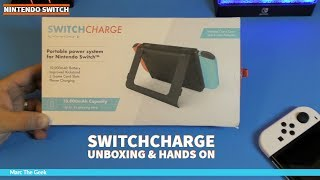 Nintendo SwitchCharge Unboxing & Hands on