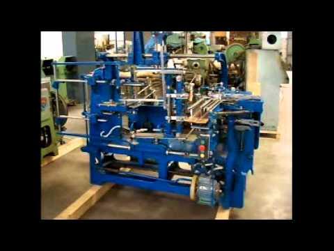 Schlesinger Hrb Bsa Brush Amp Broom Making Machine Youtube