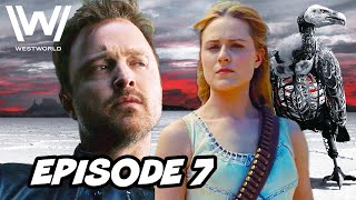 Westworld Season 3 Episode 7 HBO  TOP 10 WTF and Easter Eggs