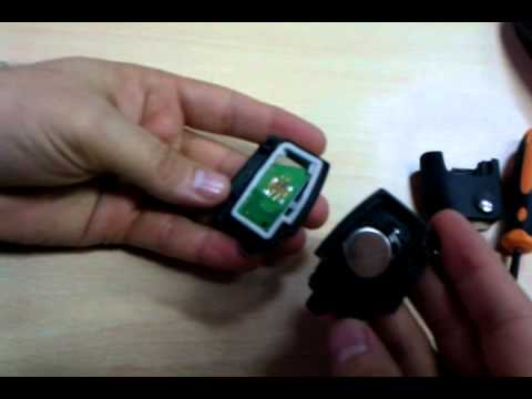 How To Change The Battery In The Ford Remote Key Focus