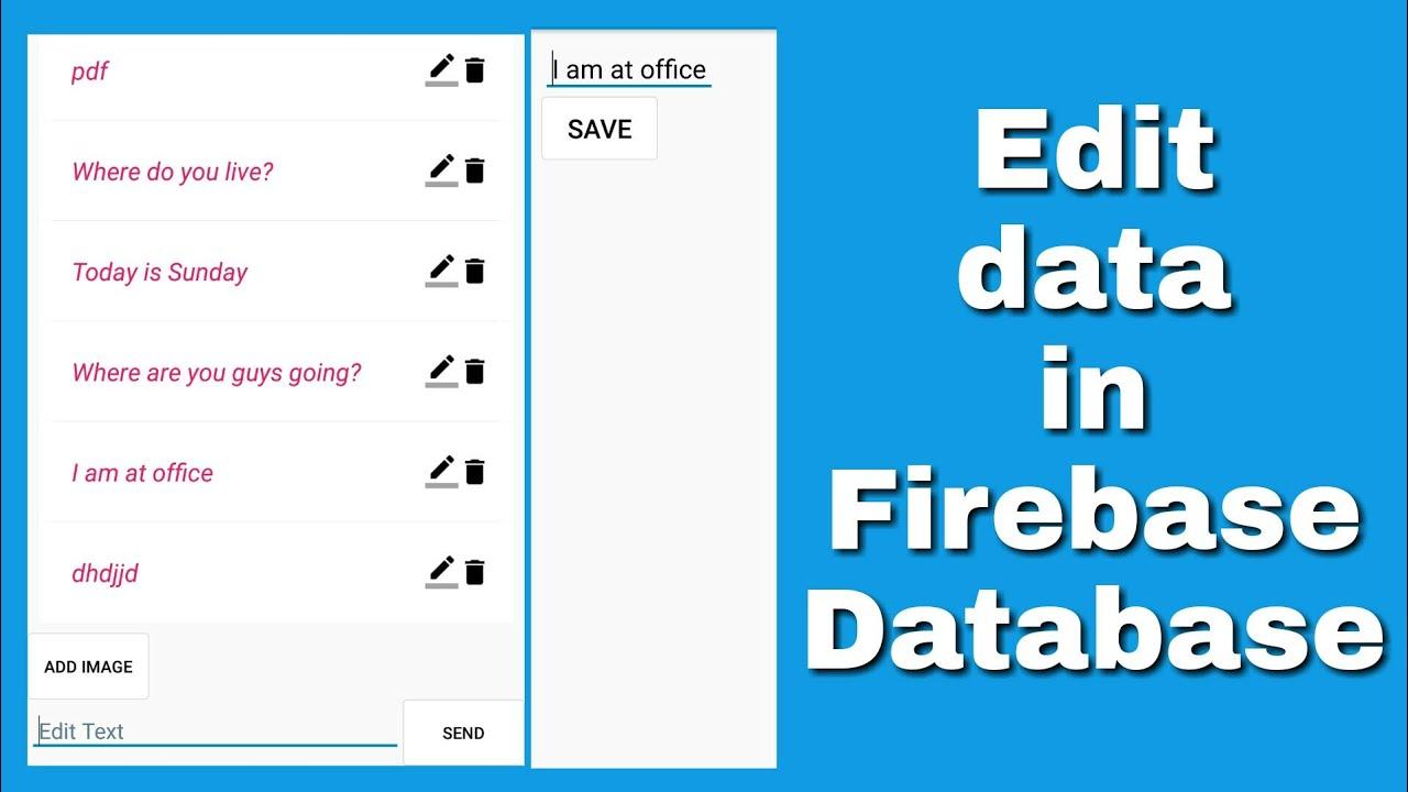 Repeat Edit Firebase data in Sketchware by Sanjeev Kumar - You2Repeat