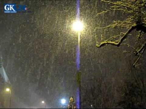 Zima 2009. Obfite Opady śniegu W Koszalinie - 14.12.2009