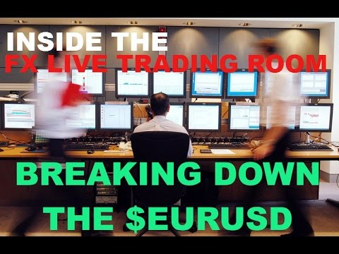 Forex Trading Live: Technical Analysis on the $EURUSD