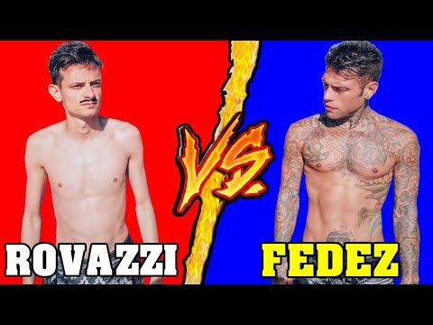 Rovazzi VS Fedez - Battaglia Rap Epica - Manuel Aski