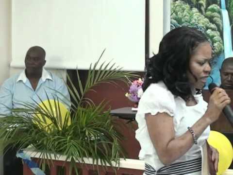Pastor Joy Dore at the OUTCAST OUTREACH_FAMILY LIFE ...