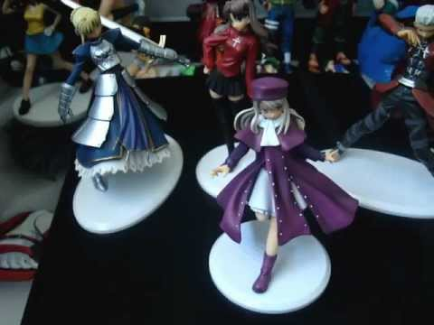 Fate/Stay Night And Welcome To Pia Carrot Anime Figures For Sale