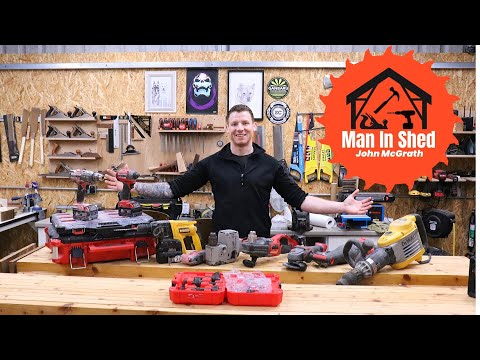 Electrician's Power Tools. The Tools I Use Every Day To Make Money. Part 2