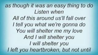 Ray Lamontagne - Shelter Lyrics