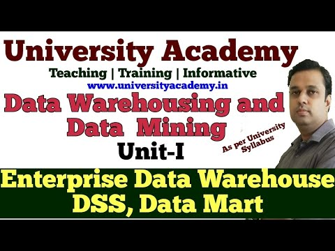 DWM2: Data Warehousing And Data Mining  Enterprise Data Warehousing Data Mart Terminology