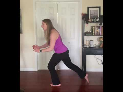 Thursday Tip: Eliminate Knee Pain During Lunges